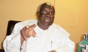 2023 Presidency: Bode George warns Buhari about Tinubu