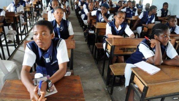 Secondary schools, classroom, school