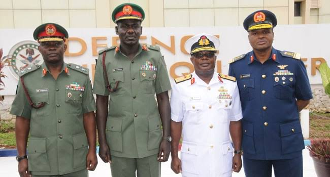 JUST IN: Buhari Replaces Service Chiefs, Senate Confirms Buratai