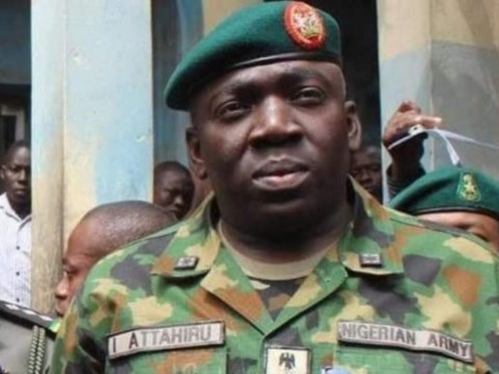 General Attahiru Ibrahim