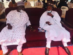 Mr. Danjuma Peter Averik and Mr. Wilson Iliya, the representative of the deputy Governor of Kaduna State.