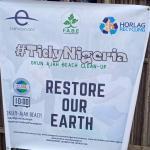 Earth Day: FABE, Horlag Recycling, Bonnie Bio Sanitize Lagos Coastal Community