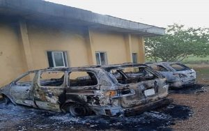 BREAKING: Assailants Raze Police Zonal Headquarters