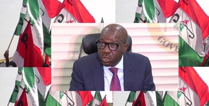 Edo PDP, Obaseki At War As Party Members Calls For Shaibu's Resignation
