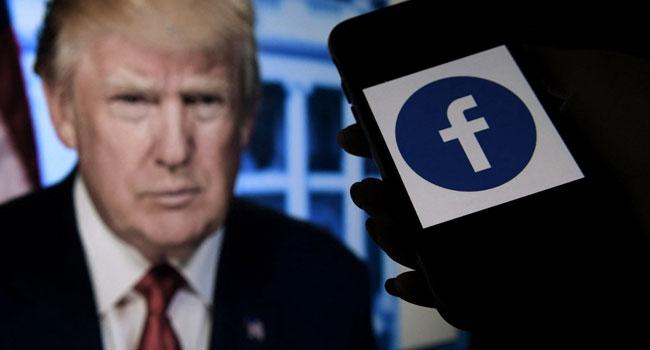 Facebook Bans Trump