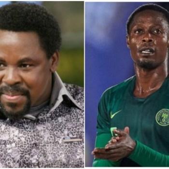 Nigerian Footballer Shares Testimony On How TB Joshua Saved His Career
