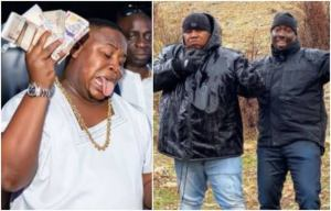 More Reactions Trail Money Chucking At Obi Cubana Mother's Burial