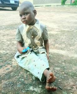 Strange Woman Abandons Child At Catholic Church In Delta