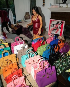 Cardi B Shows Off Birkin Handbag Collection