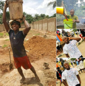 Man Who Did Menial Jobs To Survive Graduates From School
