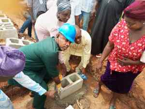 Elation As Hon Wale Raji Anomo Breaks Ground On First Primary Health Centre in Odo-Temu (Photos)