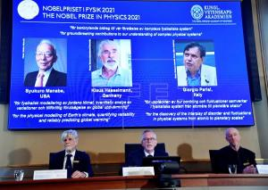 Nobel Prize In Physics Awarded to Three Scientists