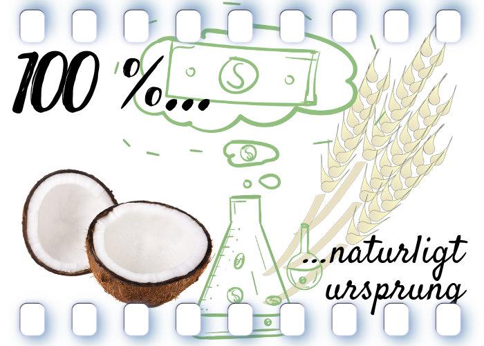 100 procent naturligt ursprung