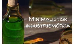 Minimalistisk industrismörja