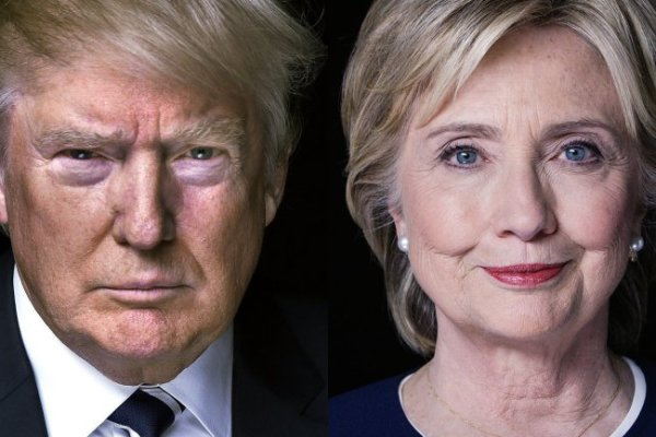 Clinton uguale rally, Trump uguale rosso? Forse.