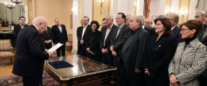GREECE-POLITICS-NEW-GOVERNMENT