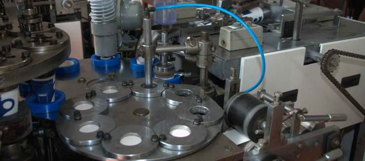 производство на хартиени чаши за вендинг автомати