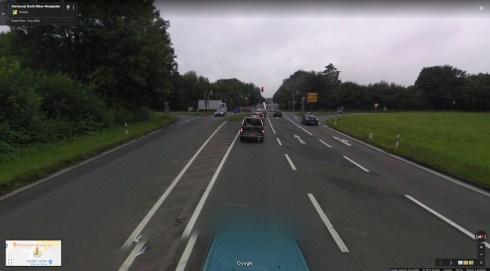 Križanje kod priključka na autocestu - niti jedno rasvjetno tijelo