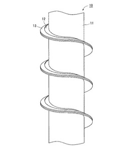 垂直スクリューコンベアとこれを用いた粉粒体搬送方法