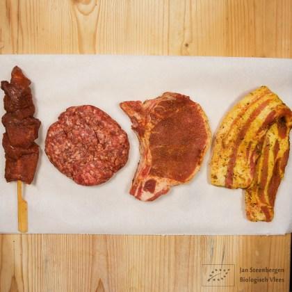 BBQ vlees kopen biologisch - Pakket Wagyu en Berkshire