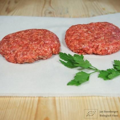 Koop je biologische Wagyu Hamburger bij Jan Steenbergen Biologisch Vlees