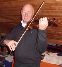 Eberhard Deltz, Violine