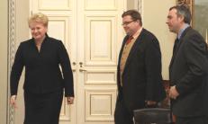 R. Kuodis (dešinėje). Nuotr. prezidentas.lt