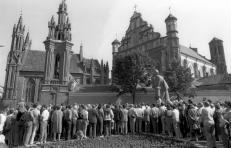 1987 m. rugpjūčio 23 d. mitingas prie A. Mickevičiaus paminklo.