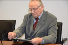 Karlio Bilans nuotraukoje – Povilas Masilionis teismo posėdyje.