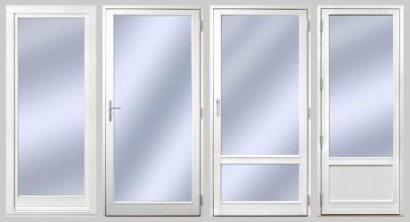 1. Inåtgående Europa Fönster fönsterdörr helglasad 2. Utåtgående Sverige Fönster fönsterdörr helglasad 3. Utåtgående Sverige Fönster fönsterdörr med glasdelande post GDP1:0 4. Utåtgående Sverige Fönster fönsterdörr med isolerad bröstning