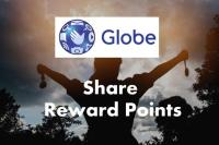 Transfer/Share Globe reward points