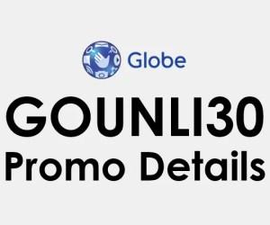 GoUNLI30: Globe Go UNLI 30