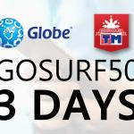 Globe/TM GoSURF50: How To Register, Extend, Freebie Details 2020