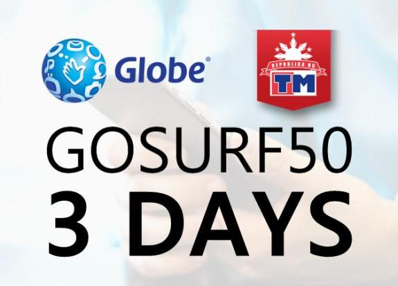GOSURF50 2019 [UPDATE]: 1GB Data, 300MB Freebie - 3 Days