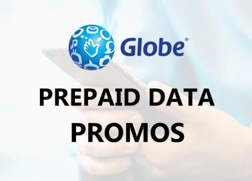 Globe prepaid internet data promo list
