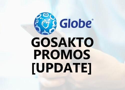 Globe GoSAKTO Promo Offers 2019: Call, Text & Mobile Data/Internet