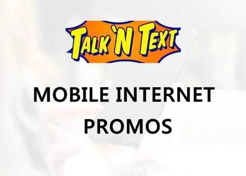 b4c5fd63a8 Talk  N Text or TNT mobile internet promo list 2018