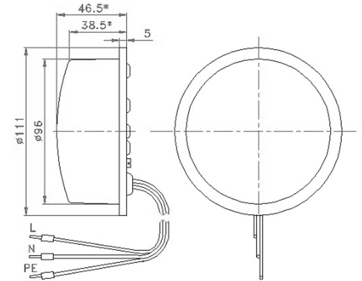 LED Optical Units for Traffic Signals E510 and E520