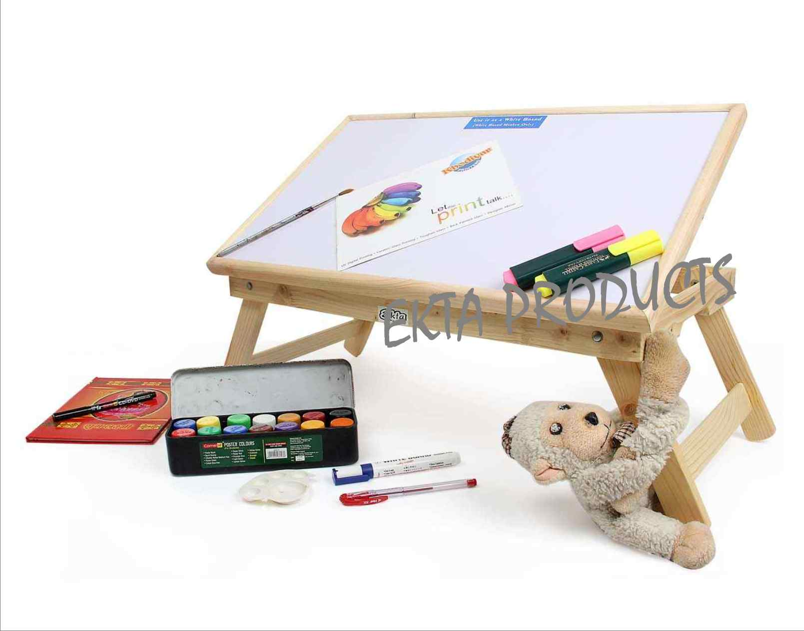 hight resolution of portable study table a