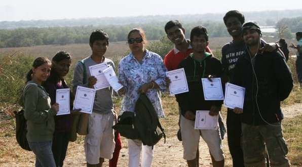 Encourage youth to study mangroves