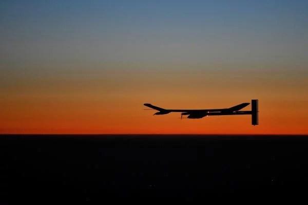 Night Flight over Night Flight over Switzerland © Solar impulse | Dominique Favre