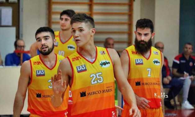 Basket B, il Giulianova conferma l'ala Enrico Gobbato