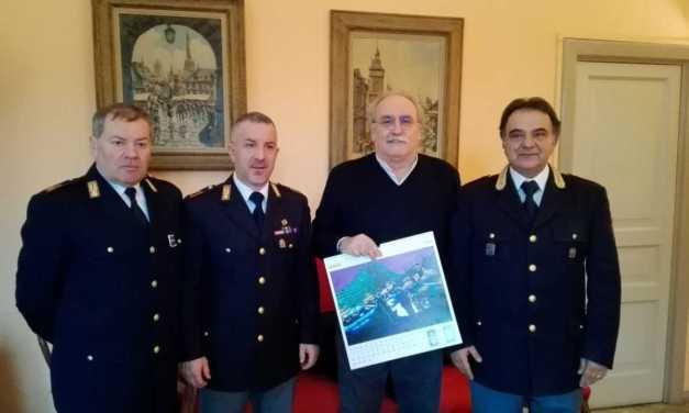 GIULIANOVA, RICEVUTI IN COMUNE I VERTICI DELLA POLIZIA DI STATO