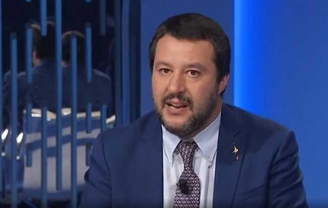 SALVINI CITA IN TV IL COMUNE DI ANCARANO PER LO STRAORDINARIO RISULTATO OTTENUTO DALLA LEGA