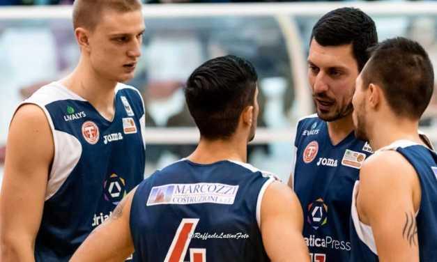 Basket, l'unico sorriso è quello dell'Adriatica Press Teramo