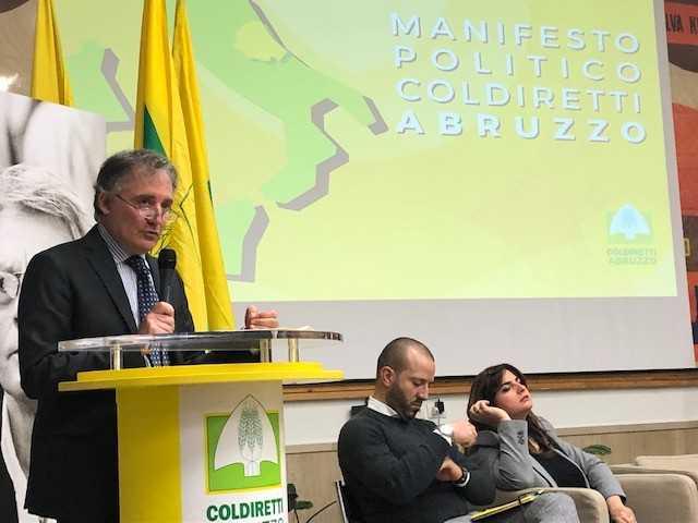 REGIONALI, COLDIRETTI E IL MANIFESTO POLITICO SUL CIBO: 12 PROPOSTE PER L'AGRICOLTURA
