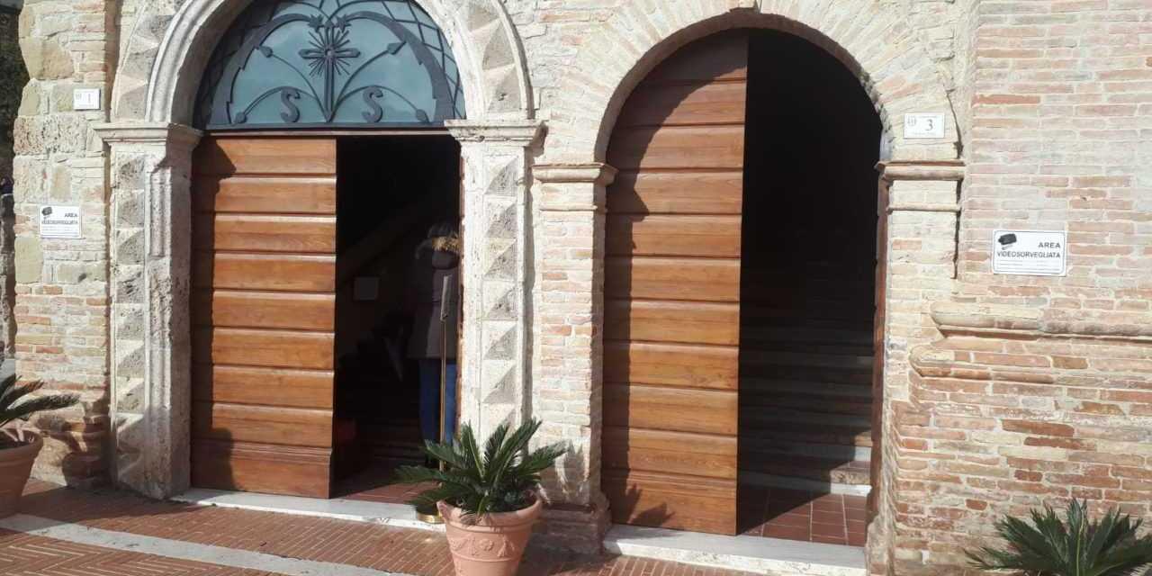 Campli, avviata la messa in sicurezza della Caserma dei Carabinieri