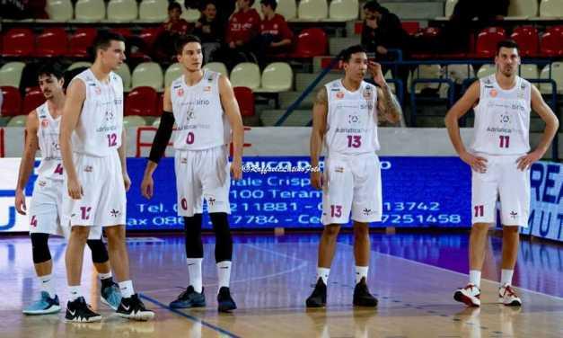 Basket B, l'Adriatica Press perde ma non sfigura contro la capolista San Severo