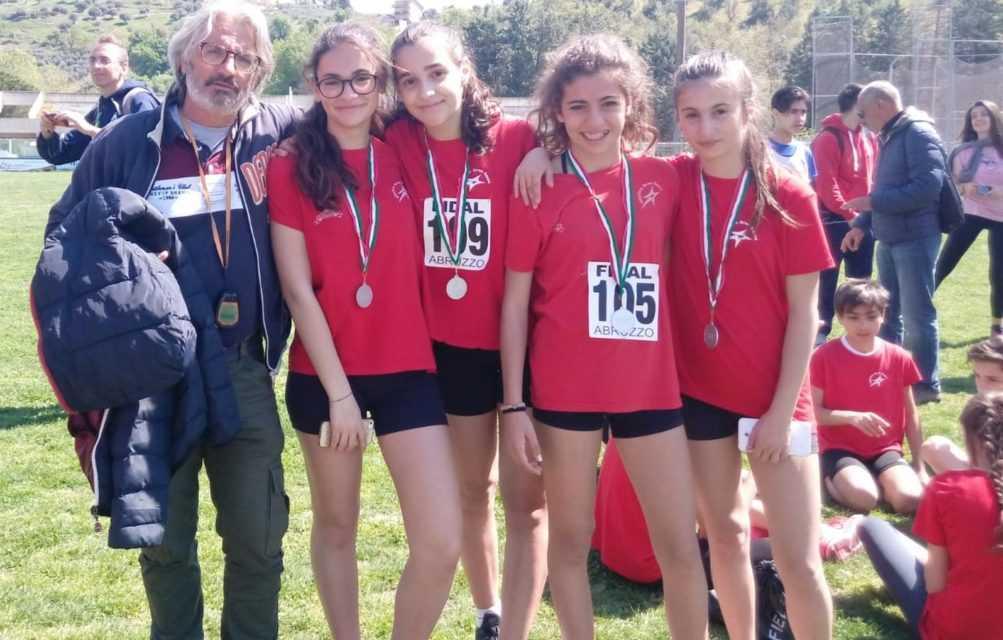 Atletica leggera, tre medaglie e un titolo di società ai Regionali di staffette