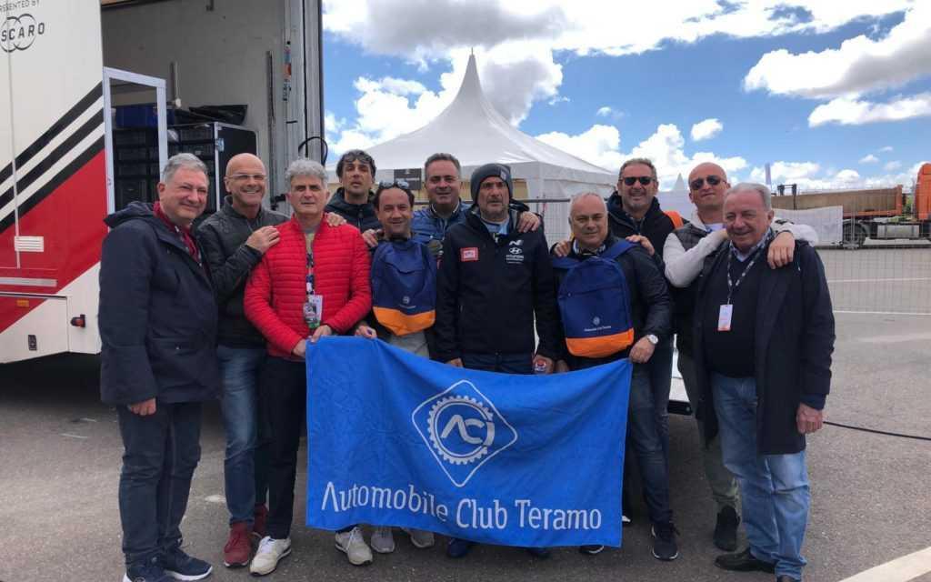 L'Aci di Teramo in Marocco per sostenere il campione in carica Gabriele Tarquini alla prima uscita del Wtcr